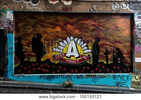ANZAC Day Graffiti