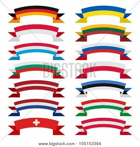 ribbons of countries