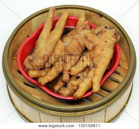 BBQ Chicken Feet