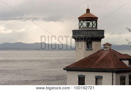 Lime Kiln Lighthouse Haro Strait Maritime Nautical Beacon