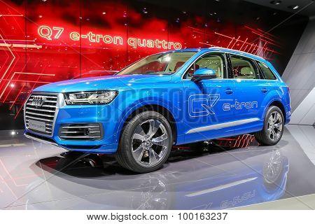 2015 Audi Q7 e-tron