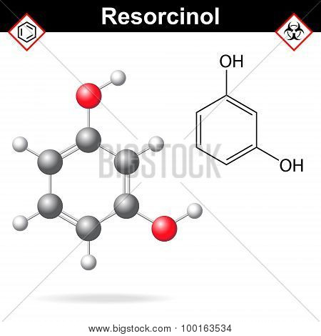 Resorcinol Structure