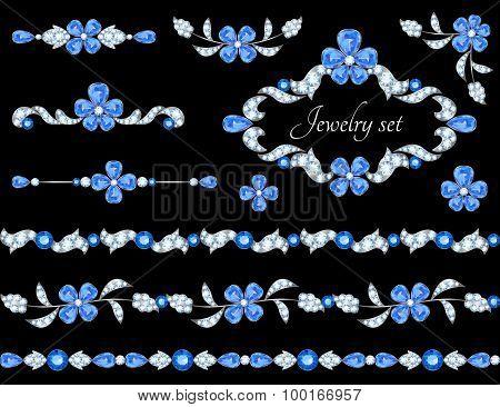 Jewelry borders