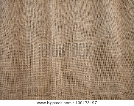 The Canvas Of Burlap Texture