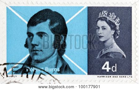 Robert Burns Stamp