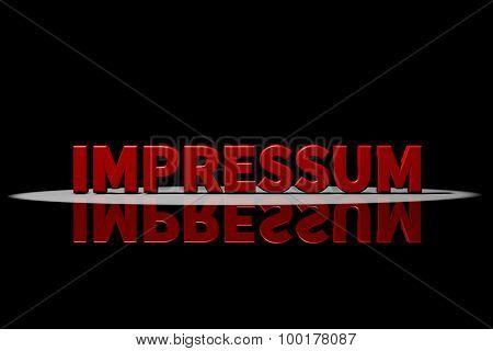 Impressum, Legal Information
