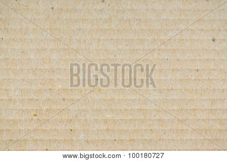 Close Up Cardboard Texture Background
