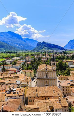 Arco, Trentino, Italy - views of the city