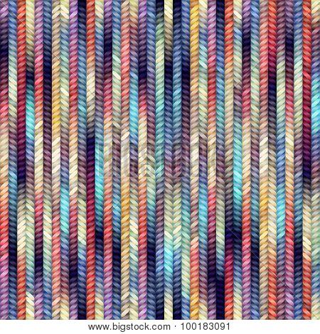 Melange knitting.