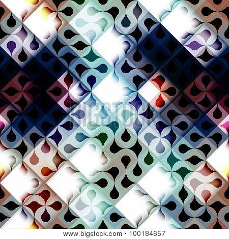 Abstract geometric diagonal pattern.