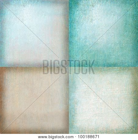 Abstract Graphic Design - Colored Textured Background