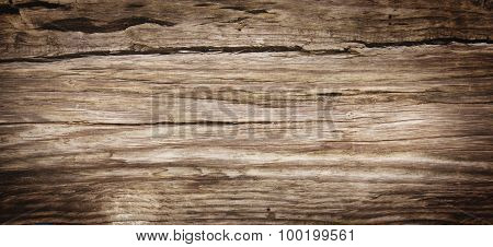 Old Rich Wood Grain Texture Background With Knots