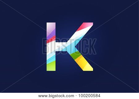 K letter vector logo icon symbol