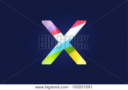 X letter vector logo icon symbol