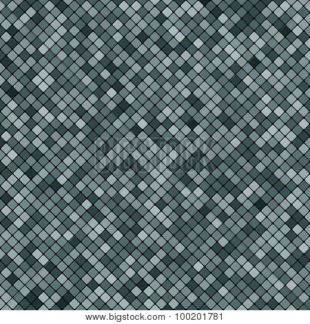 Background Abstract Mosaic Of The Grid Pixel Pattern And Squares Gray Color