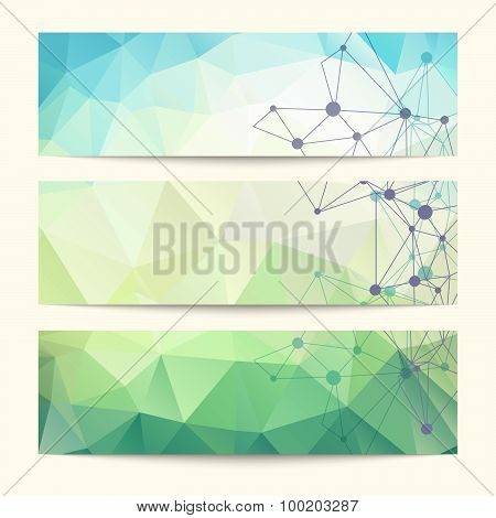 Set Of Templates For Design Of Banners, Covers