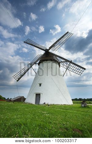 Holland mill in Estonia