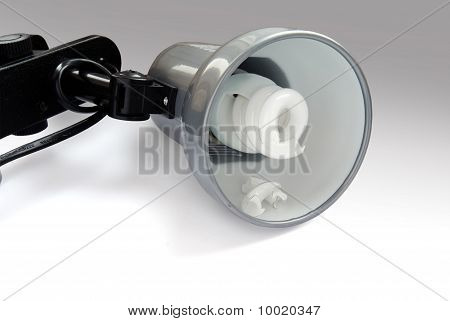 Lamp With A Burneout Bulb