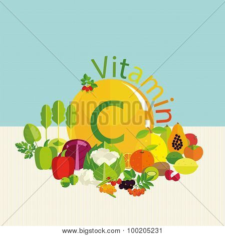 Composition Of Vegetables,
