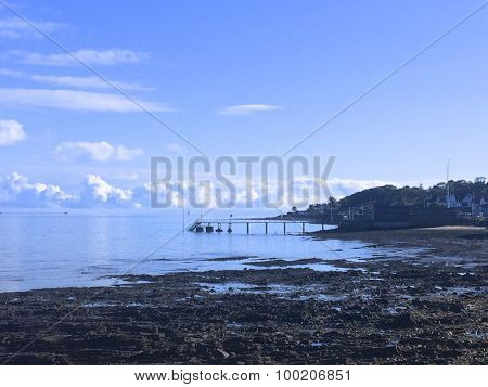 A pier at Cultra