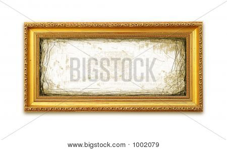 Grungy Golden Frame