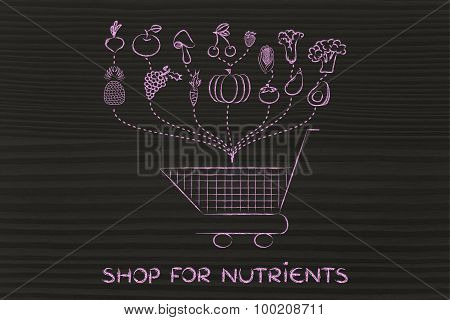 Shop For Nutrients, Healthy Food Shopping