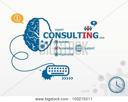 Consulting Design Illustration Concepts For Business