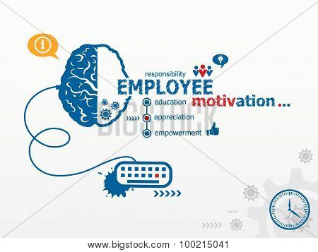 Design Illustration Concepts For Business, Consulting, Finance, Management, Career.