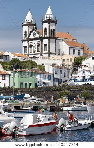 Traditional Azores Village In Terceira. Sao Mateus Da Calheta. Portugal