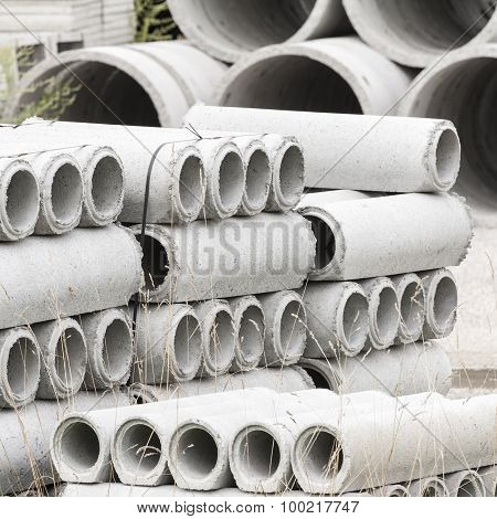 Concrete Pipes Prefabricated Warehouse