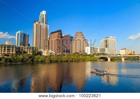 View Of Austin, Texas Downtown