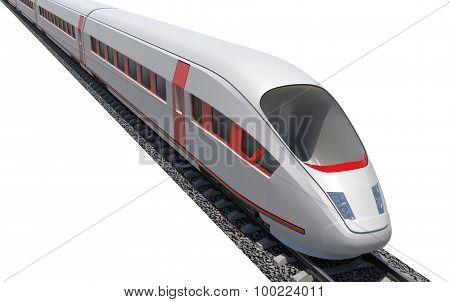Train moving forward