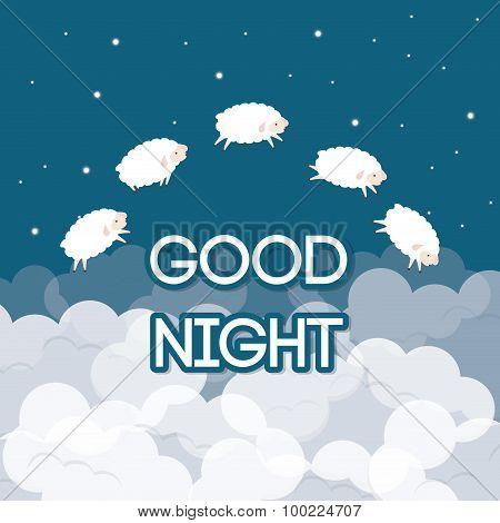 Sweet dreams design.