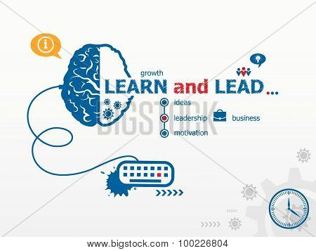 Learn And Lead Design Illustration Concepts For Business