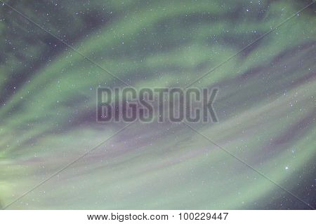 The Northern Light Aurora borealis at Vik Iceland