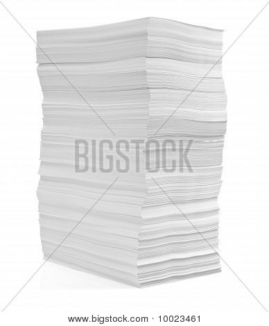 Stack Of Papers Documents Office Business