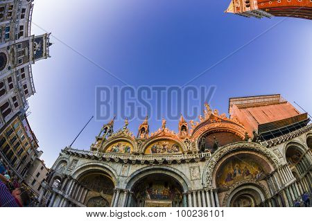 Fish-eye View Of San Marco Square In Venice, Italy 6