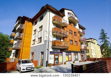 A Modern Apartments Building In Zakopane