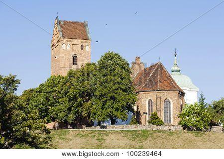 Church On The Vistula Escarpment, Warsaw