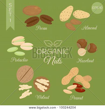 Organic Nuts Set.