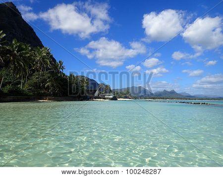 Pahonu Pond (ancient Hawaiian Fishpond)