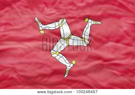Isle of Man flag.