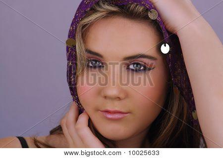 Beautiful Teen Girl Headshot