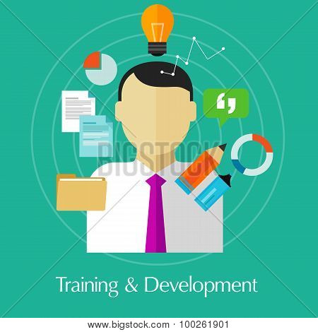 training and development business education train skill improvement