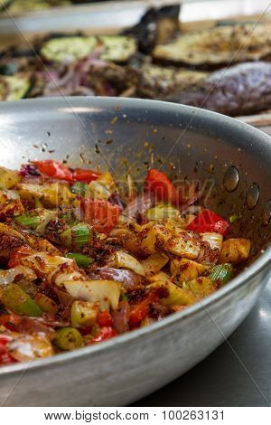 Fresh Cooked Vegetables