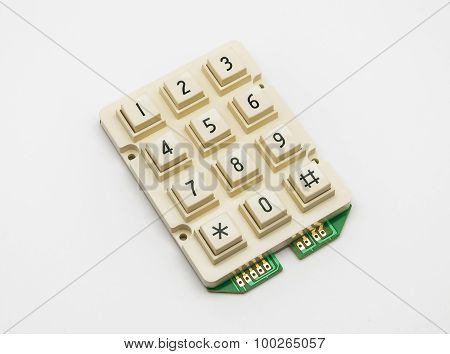 Cream Color Keypad, Spare Part