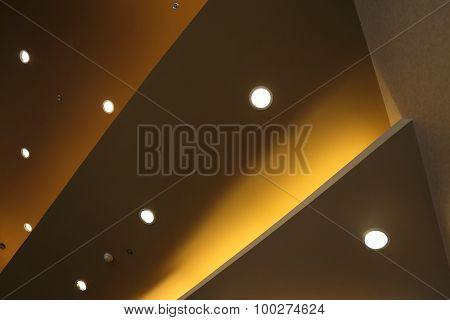 Interior Of Light On Ceiling Modern Design