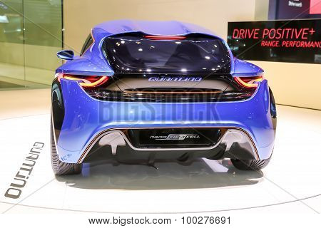 2015 nanoFlowcell Coupe Concept