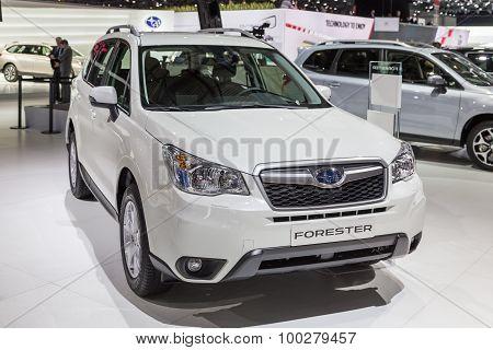 2015 Subaru Forester EU-Vesion