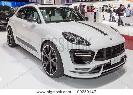 2015 TechArt Porsche Macan Turbo